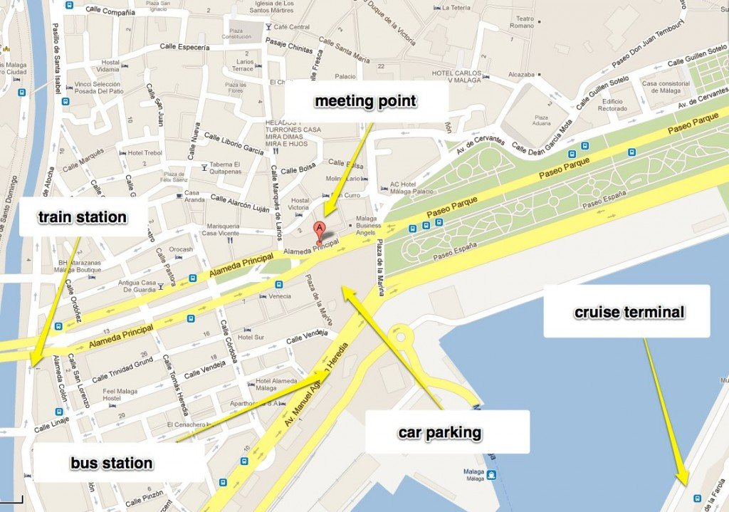 malaga - Google Maps