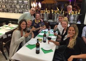 Gourmet tapas tour travelers
