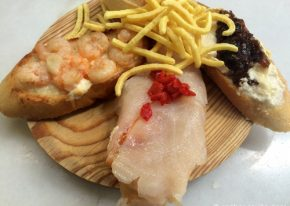 Selection of Pintxos in Malaga
