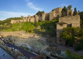 Alcazaba & Roman Theater in Malaga