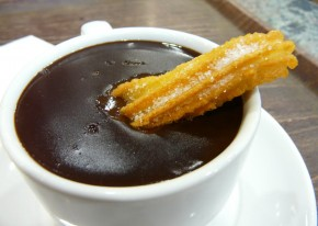 Breakfast Chocolate and Churros