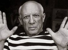 Picasso living in France